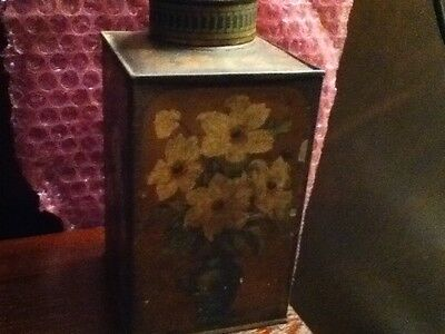 Vintage Antique Fry's Cocoa?? Tin Canister