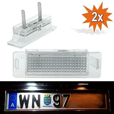 LED SMD Kennzeichenbeleuchtung f Opel Astra F GSI Calibra A Vauxhall Astra F J07