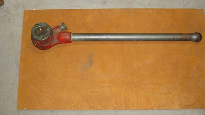Ridgid Rigid No.0-R Manual Pipe Threader Ratchet Head, Handle and Die