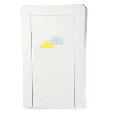 Change Table Mat Pad Foam White Baby Infant Nappy Change Soft Waterproof Cover