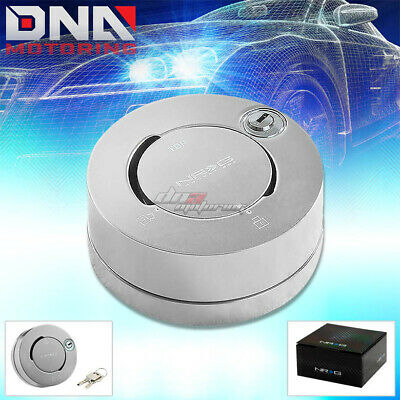 Car & Truck Steering Wheels & Horns Auto Parts and Vehicles NRG STEERING WHEEL QUICK RELEASE ADAPTER GEN 2.0/2.5 SILVER 3.5LOCK HUB KIT+KEY
