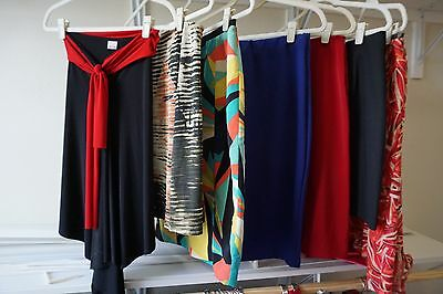 7 High Fashion Skirt LOT Great for Work or Play!  Fits M/L