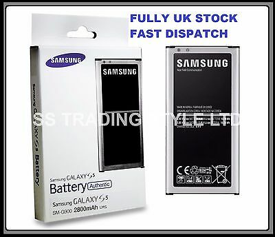 Genuine Original Official Samsung Galaxy S5 Battery GT-i9600 EB-BG900BBEGWW 2800