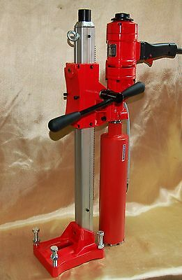 "4"" Z-1Ws Concrete Core Drill By Bluerock ® Tools 2 Speed W/stand Concrete Coring"