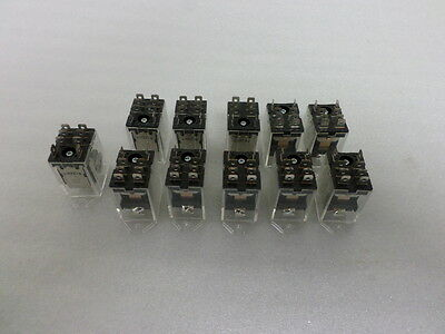 OMRON LY1F-AC24 Relay, 8Pin, SPDT, 15A, 24VAC  LOT OF 11PCS.