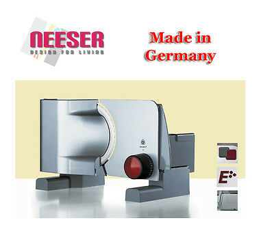 Graef Professional Slicer Tendenza T5 Made in Germany for Bread Cheese Salami