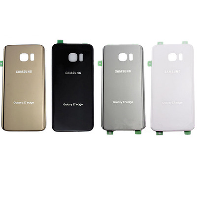 OEM  For Samsung Galaxy S7 Edge Original Replace Battery Door Glass Back Cover