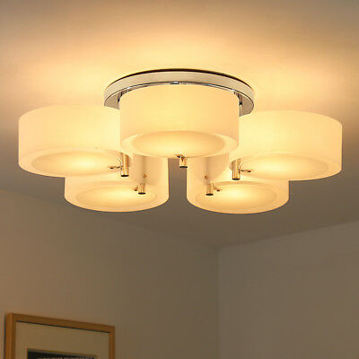 3/5/7-way Ceiling Lights Modern Chandeliers for Living Room not Contain LED Bulb