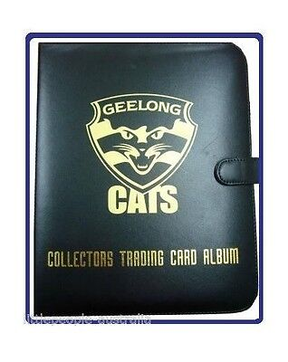 AFL Trading Cards Club Album Folder Geelong Cats Bonus 10 pages Select NEW