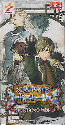 Genso Suikoden Card Stories Booster Vol.4 Sealed Box Japanese 15 pack x 10 card