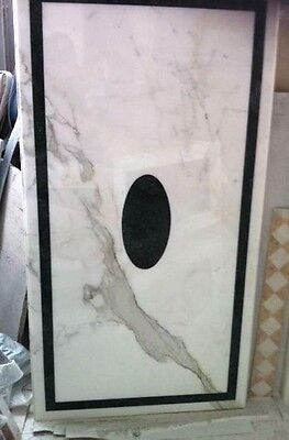 Tavolo  Intarsi in Marmo Pietre Dure Marble Design InLay Table From Italy
