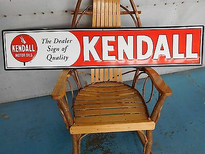 Kendall Motor Oil Sign