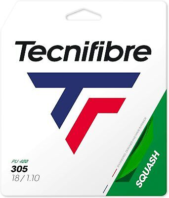 Tecnifibre 305 Green - Squash String - 9.7m - Set - 1.10mm / 18G - FREE UK P&P