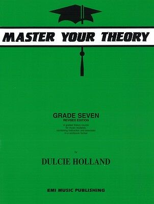 Master Your Theory Grade 7 / Seven Dulcie Holland ****New E11427 NEW