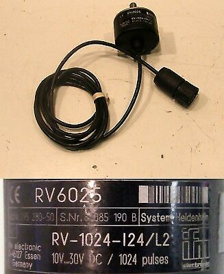 ifm electronic RV 6025 RV-1024-I24/L2 Drehgeber -used-