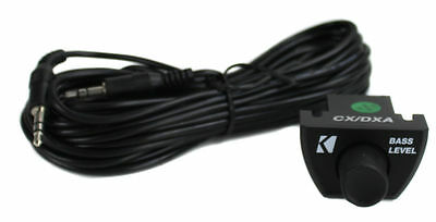 Kicker 43CXARC CXARC Remote Level Control For CX PX Series Bass Amplifiers Amps