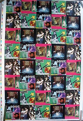 Sonic Youth Experimental Jet Set 1994 Vintage Music Record Store Promo Poster