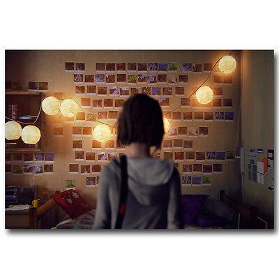 Life Is Strange Hot Game Art Silk Canvas Poster 12x18 24x36 inch