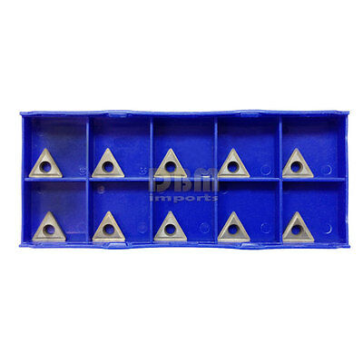 """10 PC 3/8"""" Shank C6 Carbide Inserts for Indexable Turning Tool TCMT 2151"""