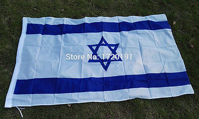 polyester printed Israel flags and banners 3*5ft decoration outlast banner