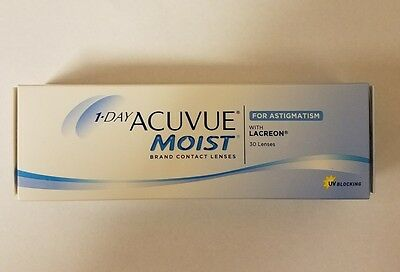 ACUVUE Moist for Astigmatism with Lacreon 1-D 30 pack