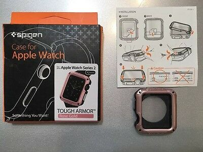 SPIGEN Apple Watch Series 2 (Rose Gold) 42mm Case Cover