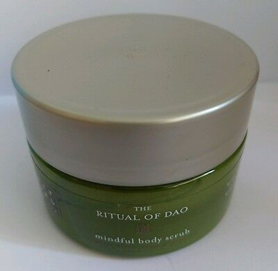 rituals the ritual of dao mindful body scrub 125ml sealed