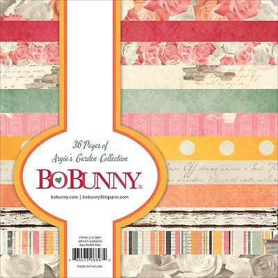 Beautifully Collection Scrapbooking 6x6 Paper Pad 36 Pages BoBunny 7310327 NEW