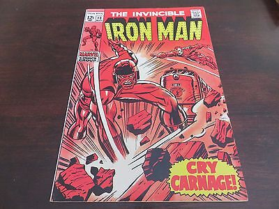 Iron Man #13 (May 1969, Marvel) VF condition