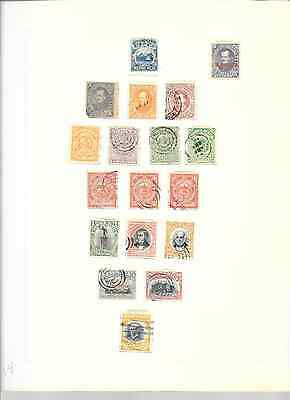 Costa Rica - 165+ assorted stamps