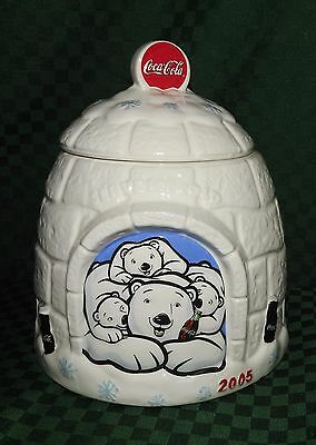 "Cookie Jar Coca Cola ""served Ice Cold"" 2005 Igloo"