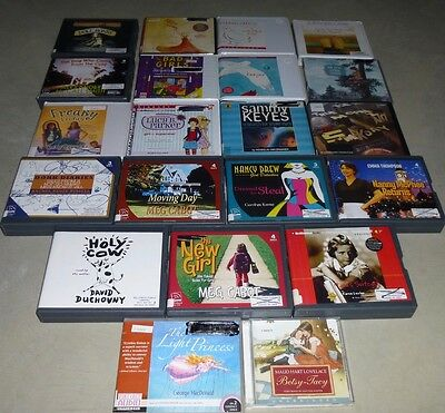 "Lot of 21 Childrens ""Girls""  Fiction Unabridged Audiobooks on CD"