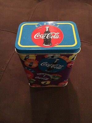 Always Coca-Cola Collector Tin W/Free S/H!