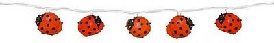 QUANDT Children Light chain Ladybird Decoration Nursery Light chain