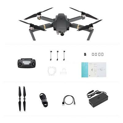 DJI Mavic Pro Foldable Drone 4K Stabilized Camera selfies & Avoidance GPS T6E8