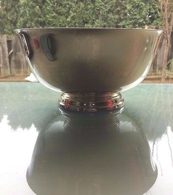 Reed & Barton Vintage Silver-Plated Paul Revere Bowl  #104