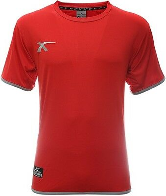 XBlades Elite Pro Training T-Shirt Tee Red And Grey Or Black Sportswear Rugby