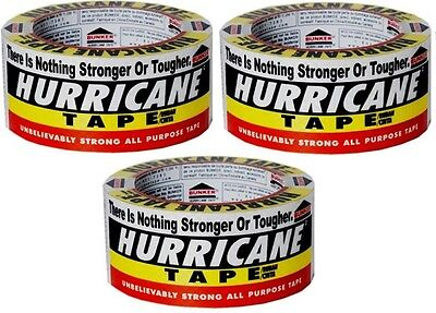 "rolls Intertape 00141 Hurricane Tape 2/"" X 60/' Ft World/'s Strongest Tape 12"