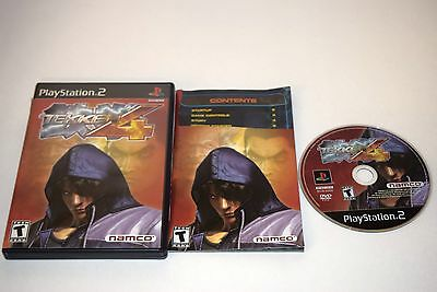 Tekken 4 Sony Playstation 2 PS2 Video Game Complete