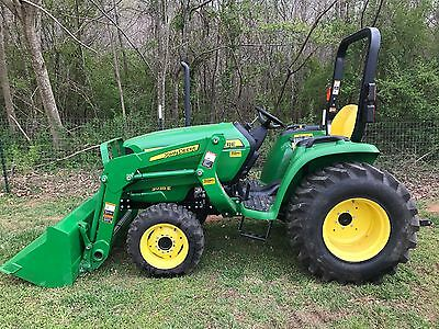 2014 John Deere 3038E 4wd Hydrostatic Transmission Loader Only 125 Hours!!!