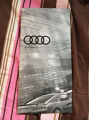 New 2017 Audi Full Line USA Color page Brochure Catalog Chicago Auto Show 2017