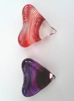 Hand Crafted Glass Hearts