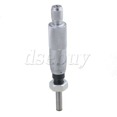Precise 0-25mm Micrometer Head Measurement Measure Tool Flat Needle With Nut