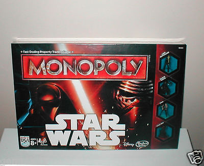 Star Wars Monopoly Game New Unopened