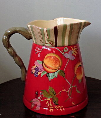 Vintage Ceramic Pitcher Tracy Porter - Octavia Hill Collection - 9'x7'