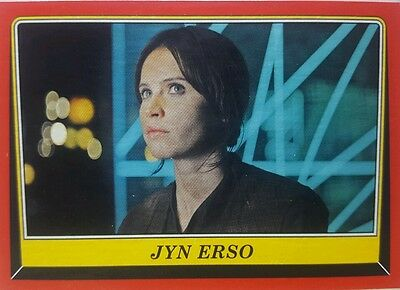 Star Wars ROGUE ONE : MISSION BRIEFING Trading Card Set 110 Topps 2016