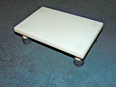 "Step Stool 3"" Tall Platform Starboard Synthetic NON FERROUS small platform"