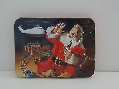 Coca Cola Christmas Playing Cards in Tin