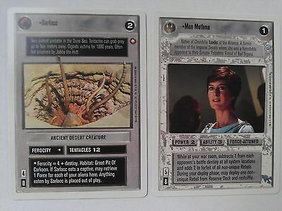 Star Wars CCG 2nd Second Anthology Sarlacc NrMint-Mint SWCCG