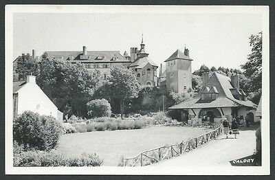 Caldey Pembrokeshire Tenby c1950s Squibbs Real Photo Postcard